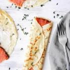 Savory Crepes Recipe with Smoked Salmon