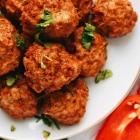 Baked Cajun Chicken Meatballs