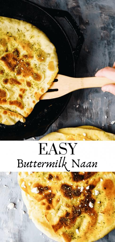 buttermilk naan bread recipe pinterest