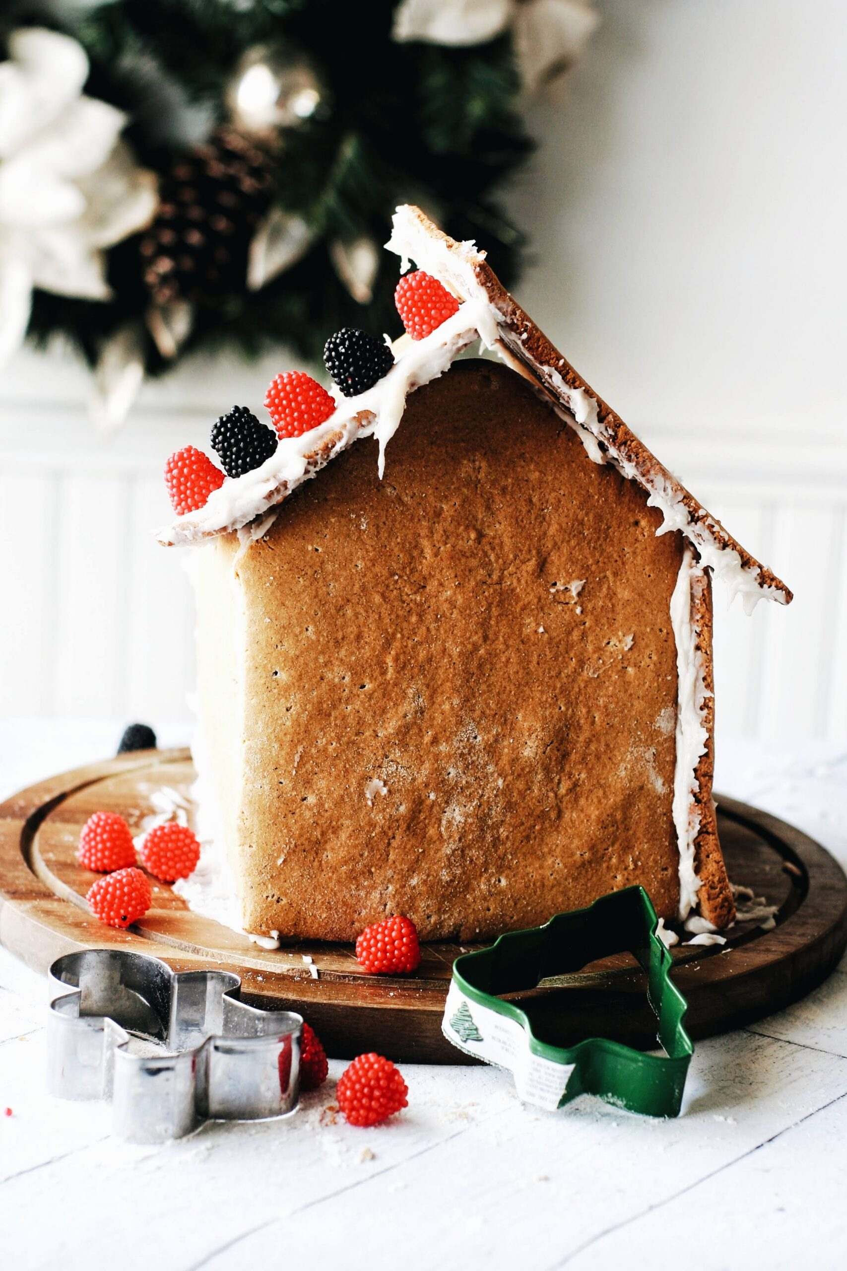 Gluten Free Dairy Free Gingerbread House Recipe