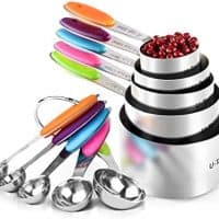 10 Piece Measuring Cups and Spoons Set