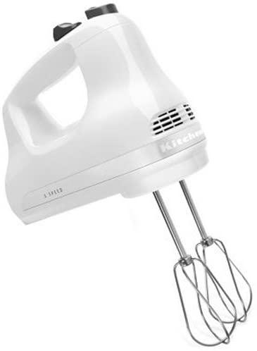 KitchenAid 5-Speed Ultra Power Hand Mixer, White