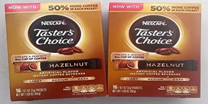 Nescafe Taster's Choice Instant Coffee Hazelnut