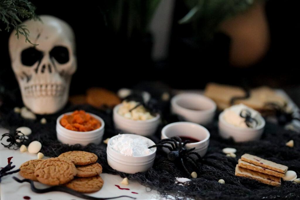 ingredient shot of pumpkin truffles